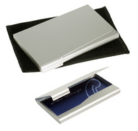 Business Card Silver Holder