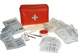 First Aid Kit Red Pouch