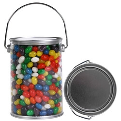 Assorted Colour Mini Jelly Beans in 1 Litre Drum