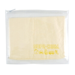 Supa Cham Chamois / Body Towel in PVC Zipper Pouch