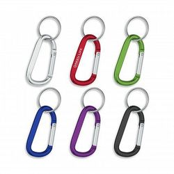 8mm Carabiner With Split Ring