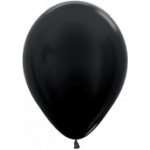 Black Metallic Balloons