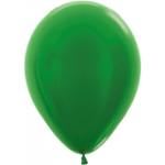 Green Metallic Balloons