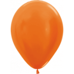 Orange Metallic Balloons