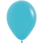 Teal Metallic Balloons
