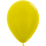 Yellow Metallic Balloons