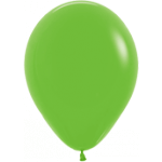 Lime Green Balloons