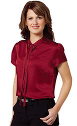 Women's Tie Neck Blouse