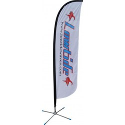 Feather Flag - Standard - 700mm x 4100mm