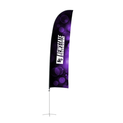 Feather Flag - XL - 750mm x 5000mm